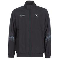 tekstylia Męskie Bluzy dresowe Puma MAPM STREET WOVEN JACKET MERCEDES Czarny