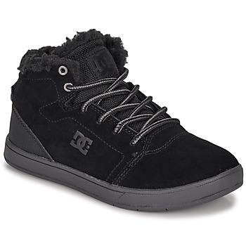 Buty Dziecko Trampki wysokie DC Shoes CRISIS HIGH WNT Czarny