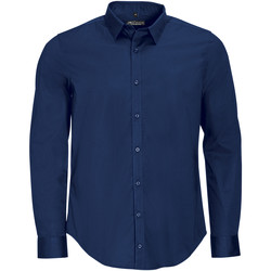 tekstylia Męskie Koszule z długim rękawem Sols BLAKE MODERN MEN Azul