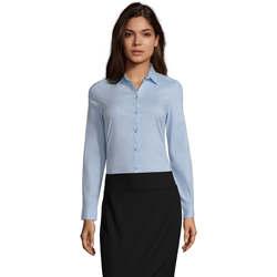 tekstylia Damskie Koszule Sols BLAKE MODERN WOMEN Azul