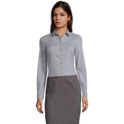 tekstylia Damskie Koszule Sols BLAKE MODERN WOMEN Gris