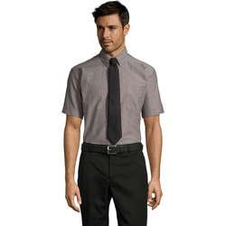 tekstylia Męskie Koszule z krótkim rękawem Sols BRISBANE ORIGINAL WORK Plata