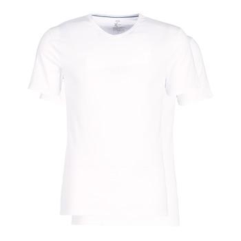 Bielizna  Męskie Podkoszulki  DIM X-TEMP TOPS X 2 Biały