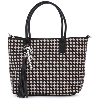 Torby Damskie Torby shopper Café Noir CAFE NOIR 2293 SHOPPING Nero