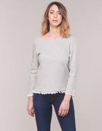 tekstylia Damskie T-shirty z długim rękawem Betty London KARA Biały / Marine