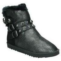 Buty Damskie Śniegowce Wrangler Buty  wl182670-11 mody dziewczyna czarny Noir