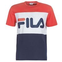 tekstylia Męskie T-shirty z krótkim rękawem Fila DAY TEE Marine / Czerwony / Biały