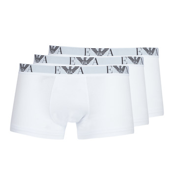 Bielizna  Męskie Bokserki Emporio Armani CC715-111357-16512 Biały