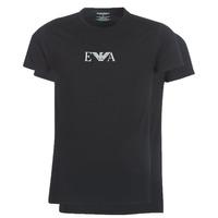tekstylia Męskie T-shirty z krótkim rękawem Emporio Armani CC715-111267-07320 Czarny