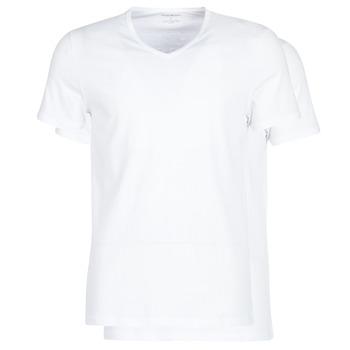 tekstylia Męskie T-shirty z krótkim rękawem Emporio Armani CC722-111648-04710 Biały
