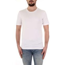 tekstylia Męskie T-shirty z krótkim rękawem Selected 16057141 Biały