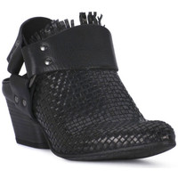 Buty Damskie Chodaki Juice Shoes INTRECCIATO NERO Nero