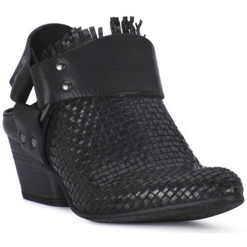 Buty Damskie Low boots Juice Shoes INTRECCIATO NERO Nero