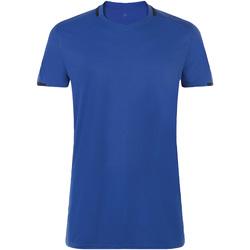 tekstylia Męskie T-shirty z krótkim rękawem Sols CLASSICO SPORT Azul