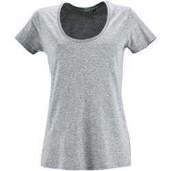 tekstylia Damskie T-shirty z krótkim rękawem Sols METROPOLITAN CITY GIRL Gris