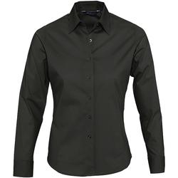 tekstylia Damskie Koszule Sols EDEN ELEGANCE Negro