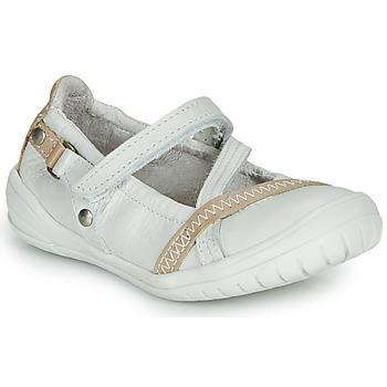 Buty Dziewczynka Baleriny Ramdam BEZIERS Biały
