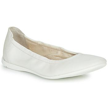 Buty Dziewczynka Baleriny Ramdam LIBRE Biały
