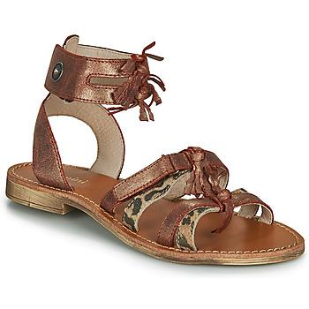 Buty Dziewczynka Sandały Catimini CABRI Brązowy