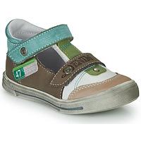 Buty Chłopiec Sandały GBB PEPINO Brązowy / Beżowy / Zielony