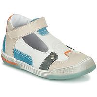 Buty Chłopiec Sandały GBB PERCEVAL Biały / Beżowy / Niebieski