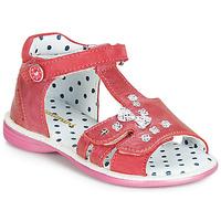 Buty Dziewczynka Sandały Catimini PUCE Różowy