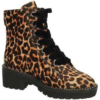 Buty Damskie Buty za kostkę Apepazza CRISTEL leopa-leopardo
