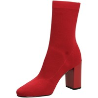 Buty Damskie Botki What For JACK red-rosso