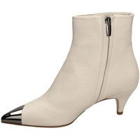 Buty Damskie Botki The Seller NAPPA white-bianco