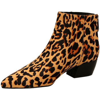 Buty Damskie Botki What For FERDINAND dcame-camel
