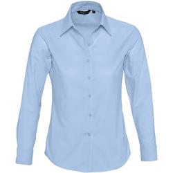 tekstylia Damskie Koszule Sols EMBASSY OXFORD GIRL Azul