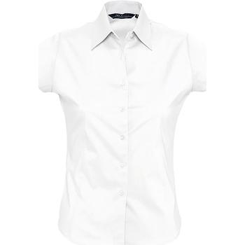tekstylia Damskie Koszule Sols EXCESS CASUAL WOMEN Blanco