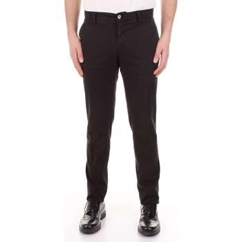 tekstylia Męskie Spodnie z pięcioma kieszeniami Mason's MILANO-CBE024 Czarny