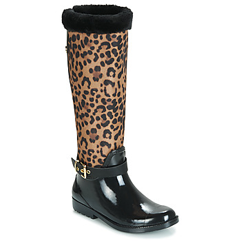 Buty Damskie Kalosze Guess CICELY Czarny / Leopard