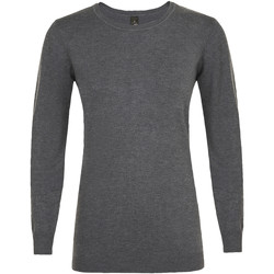 tekstylia Damskie Swetry Sols GINGER SWEATER WOMEN Gris