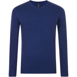 tekstylia Męskie Swetry Sols GLORY SWEATER MEN Azul