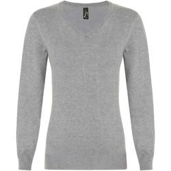 tekstylia Damskie Swetry Sols GLORY SWEATER WOMEN Gris