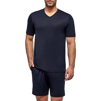 tekstylia Męskie Piżama / koszula nocna Impetus Travel 4065F84 F86 Niebieski