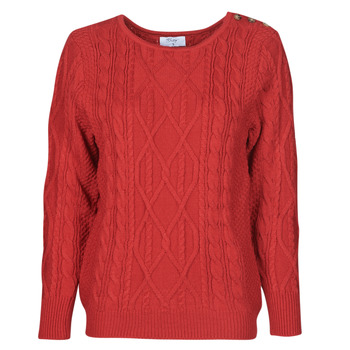 tekstylia Damskie Swetry Betty London LEONIE Czerwony