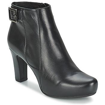 Buty Damskie Low boots Unisa NAPUR Czarny