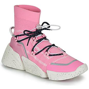 Buty Damskie Trampki wysokie Kenzo K SOCK SLIP ON Różowy