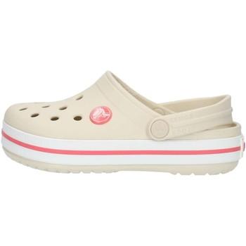Buty Dziecko Chodaki Crocs 204537 Beżowy