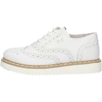 Buty Dziewczynka Derby Nero Giardini P732110F Biały
