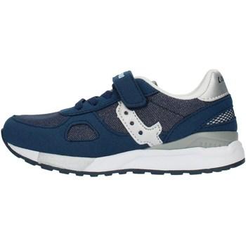 Buty Dziewczynka Trampki niskie Canguro C60216H Niebieski