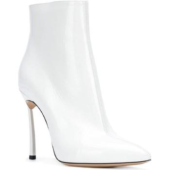 Buty Damskie Buty za kostkę Casadei 1Q618L100TRAIN900 Biały