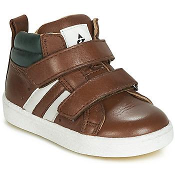 Buty Chłopiec Trampki wysokie Acebo's 3040-CUERO-C Brązowy