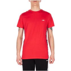 tekstylia Męskie T-shirty z krótkim rękawem Fila TALAN TEE SS 002-black