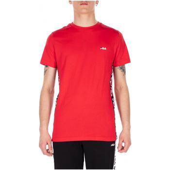 tekstylia Męskie T-shirty z krótkim rękawem Fila TALAN TEE SS m67-bright-white