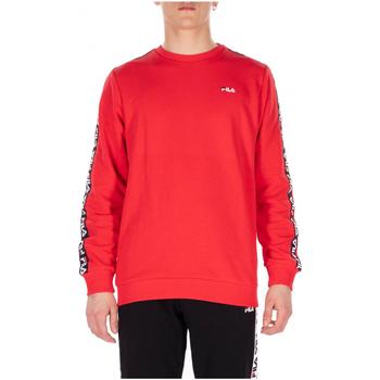 tekstylia Męskie Bluzy Fila AREN CREW 006-true-red