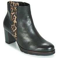 Buty Damskie Botki Gabor 3554122 Czarny / Leopard